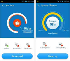 how to clean virus from android top 5 free antivirus to clean virus and gunpoder from android phone