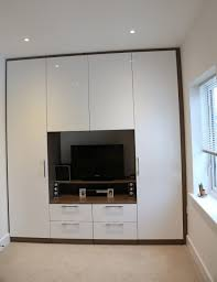 Bedroom With Tv 15 Photos Built In Wardrobes With Tv Space Wardrobe Ideas
