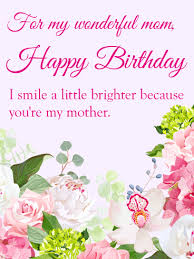 birthday card for mother best 25 mom birthday cards ideas on