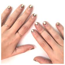 an easy diy manicure with fun shapes spa week daily