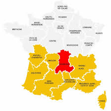 Champagne France Map by Walking Holiday In Auvergne Cantal Walking Holidays France