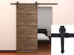 Barn Door Closet Hardware Amazon Com Tms Tsq08 Dark Modern American Style Barn Wood Sliding