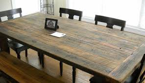 how to make your own dining room table large and beautiful