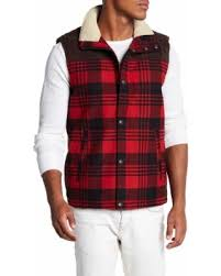 83 lucky brand faux fur combo puffer vest at