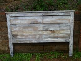 Whitewash Bench White Wash Pallet Headboard Pallets Fabulous Ideas
