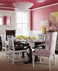 Pink Armchair Design Ideas Pink And Brown Wingback Dining Chairs Design Ideas