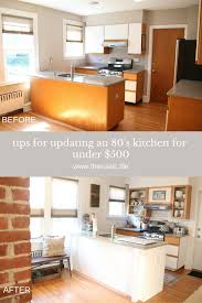 S Kitchen Makeover - our rustic french farmhouse 80 u0027s kitchen makeover for under 500