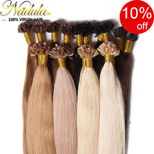 real hair extensions keratin bond hair extensions ebay