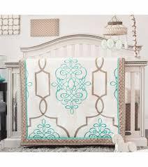 Crib Bedding Collection by Cocalo Capri 4 Piece Crib Bedding Set