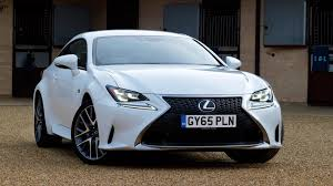 sporty lexus 4 door lexus rc 200t f sport 2016 review by car magazine