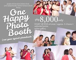 Photobooth Photo Booth Cagayan De Oro For Rent By One Happy Storyphoto Booth