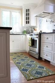 kitchen rug ideas houseography kitchen color pop runner 24 kitchen black and white