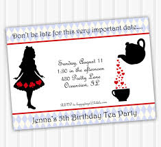 mad hatters tea party invitation ideas rustic tea party bridal shower invitations templates bridal party