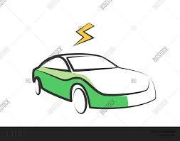 electric vehicles symbol modern electric car silhouette vector u0026 photo bigstock