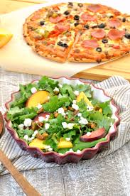 California Pizza Kitchen Tostada Pizza Pizza Night And A Stone Fruit Salad My Suburban Kitchen
