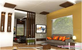 Home Interior Plan Dining Kitchen Living Room Interior Designs Kerala Home Design For