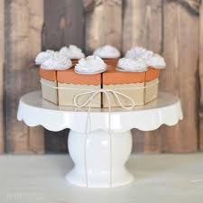 mini pie box thanksgiving paper place cards diy