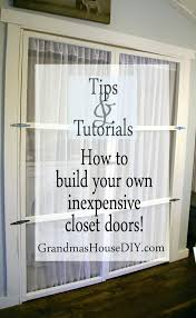 Build Closet Door Astonishing Closet Build Doors How To Your Own Inexpensive Pic Of