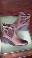 ugg australia womens emalie brown stout leather ankle boot 7 ebay ugg australia womens emalie brown stout leather ankle boot 7 ebay