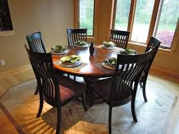 60 dining room table impressive black ladder back chairs and large windows using best 60