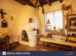 New Mexico House New Mexico Taos Kit Carson House And Museum Stock Photo Royalty
