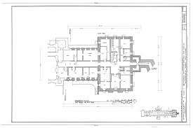 smithsonian institution building basement plan east range and