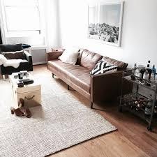 Brown Leather Sleeper Sofa Leather Sleeper Sofa As Fancy Furniture Design In Living Room