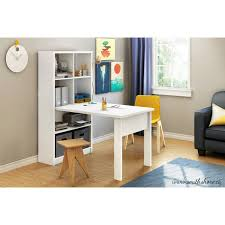 south shore artwork craft table with storage pure white storage craft table with storage pottery barn as well as craft