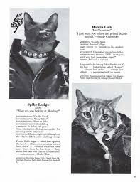 cat yearbook in the 80s they put cat heads on human bodies without photoshop