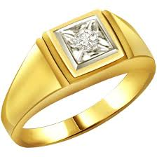 gold ring for men solitaire rings
