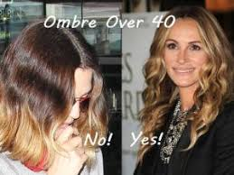 over forty hairstyles with ombre color ombre hair color is a big trend but are we too old for it my