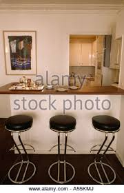 Modern White Bar Stool Black Stools White Breakfast Bar In Modern White Kitchen Dining