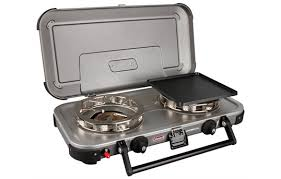 Spider Burners by Coleman Fyrechampion Double Burner Stove Go Outdoors