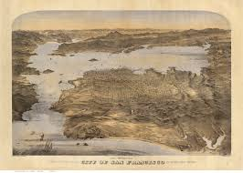 Map Of San Francisco by Old Maps Of California San Francisco