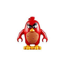 amazon lego angry birds movie minifigure red bird