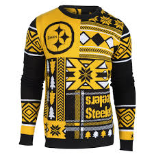 pittsburgh steelers patches nfl sweater by klew