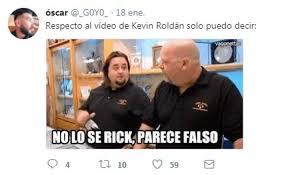 Memes De Kevin - memes del video de kevin rold磧n alo co
