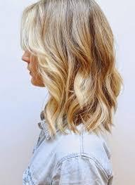 Frisuren Mittellange Wellige Haare by Die Besten 25 Welliges Haar Ideen Auf Strandfrisuren