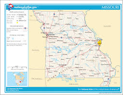 Map Of Mountains In United States by Map Of Missouri Na U2022 Mapsof Net