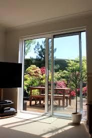 Glass Sliding Patio Doors Image Of Aluminium Patio Doors Overlooking Back Garden With