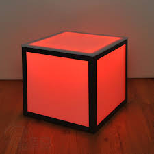 Cube Side Table Led Cube Side Table Bar Furniture Lighted Nightclub Furniture