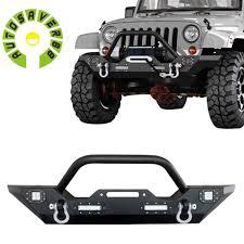 jeep wrangler front bumper autosaver88 07 16 jeep wrangler jk rock crawler front bumper