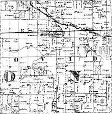 Michigan Township Map by Ovid Clinton County Michigan A Blog About Ovid Township And