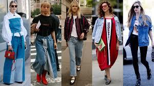 cool blue denim on day 7 closed out new york fashion week fashionista