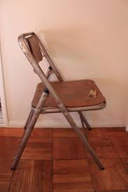 Samsonite Folding Chairs For Sale Vintage Samsonite Folding Chairs Get A Makeover Queen B Vintage