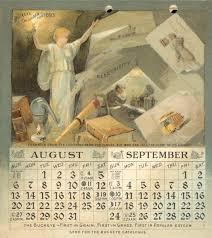 How To Ship A Desk Buckeye Calendar U2014 August U0026 September Book Or Pamphlet