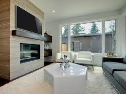 High Mount Tv Wall Living Room Stupendous Fireplace Surround By Windows Cottage Living Room Wood