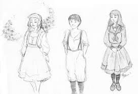 secret garden costume sketches by deirling on deviantart