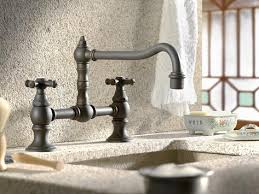kitchen bridge faucets homethangs has introduced a guide to luxury kitchen faucets