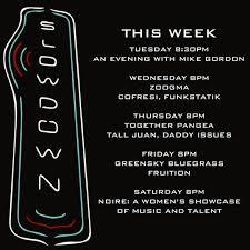 slowdown rock club and bar
